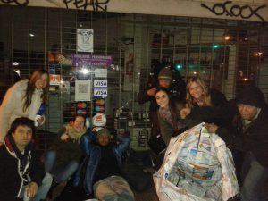 Jóvenes en la Noche de la caridad
