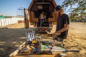 Woodhead es un proyecto que salió de Buenos Aires y busca llegar a Alaska. Foto: Facebook