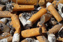 Colillas de cigarrillo, el contaminante más dañino. Foto: archivo.